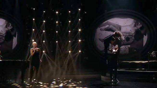 Míša Badinková a David Kraus jako Christina Aguilera a ian Axel