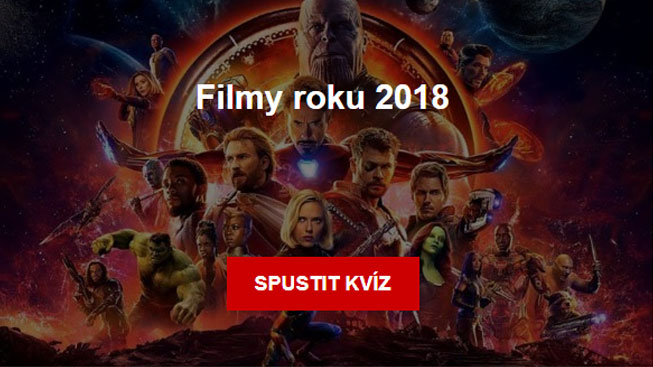 Kvíz - Filmy roku 2018