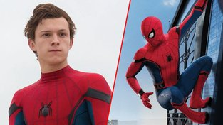 Tom Holland jako Spider-Man