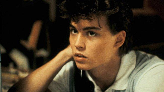 Johnny Depp v hereckém debutu Noční můra v Elm Street.