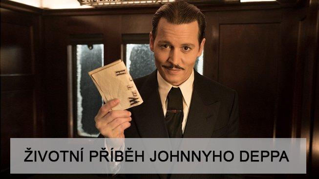 Johnny Depp ve filmu Vražda v Orient expresu.