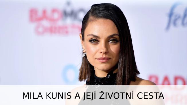 Mila Kunis: životopis