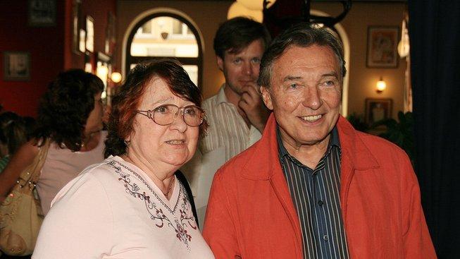 Antonie Zacpalová a Karel Gott