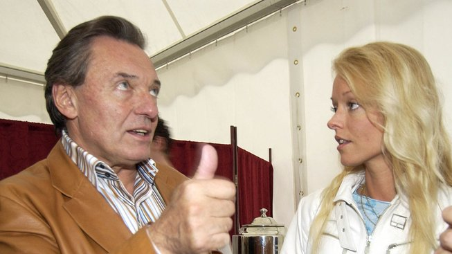 Dominika Gottová a Karel Gott
