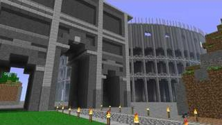 1:1 Replica of Roman Colosseum in Minecraft Beta