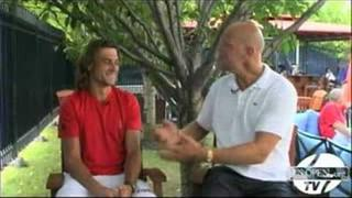 2008 US Open - Off-Court Spotlight with David Ferrer