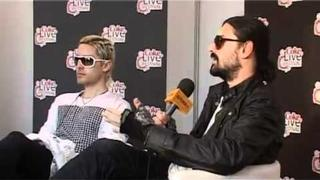 30 Seconds to Mars Interview at Coke Live Festival