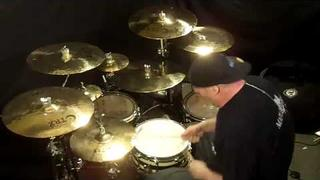 36 Crazyfists - Turns To Ashes [Drum Cover]
