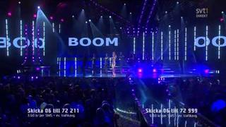 6. Marie Serneholt - Salt & Pepper (Melodifestivalen 2012 Deltävling1) 720p HD