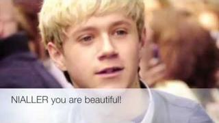 A message to Niall Horan, We Love you x