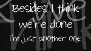 A Rocket To The Moon - Just Another One - Lyrics