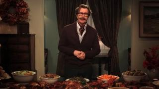 A Thanksgiving Message from Gary Oldman