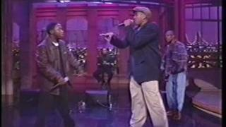"A Tribe Called Quest ""Stressed Out"" on David Letterman Live"