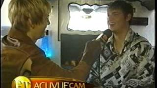Aaron Carter on Extra