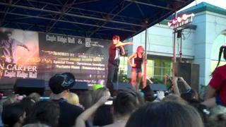 "Aaron Carter singing ""I want Candy"" and ""Looking for a girlfriend"" :)"
