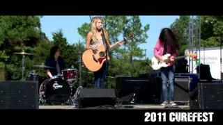 "Abby Miller & friends perform ""Everywhere"" by Michelle Branch at CureFest"