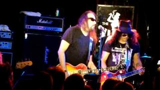 "Ace Frehley (feat. Slash) LIVE ""Cold Gin"" & ""Black Diamond- Outro"" 9/12/09// Viper Room"