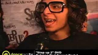 Adam G. Sevani AKA Moose Step Up 2 the Streets Interview