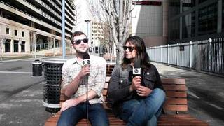 Adam Lazzara & John Nolan from Taking Back Sunday - Interview with the AU review