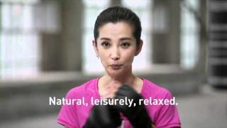 adidas women go all in -- Catching up with Li BingBing