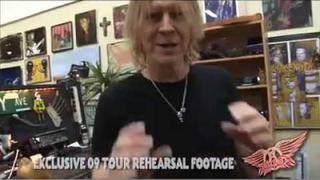Aerosmith - 2009 Tour - Rehearsal Sneak Peek #1