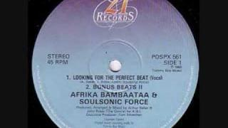 afrika bambaataa- looking for the perfect beat