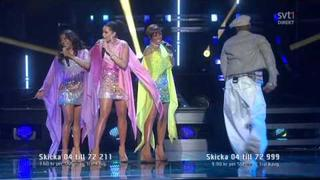 Afro-Dite - The Boy Can Dance (Melodifestivalen 2012)