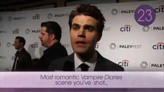 Against the Clock with...Paul Wesley
