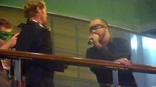 AJ McLean and Brian Littrell singing London from AJ's solo cd @ BSBcruise 2010