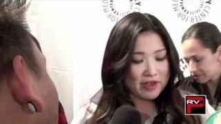 "AJ Rafael Interviews Jenna Ushkowitz of ""Glee"" during the Paley Festival"