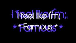 Akon ft. Nick Cannon - Famous with Lyrics(Keenan Cahill)