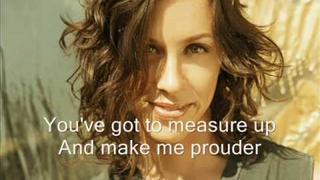 "Alanis Morissette ""Perfect"" with lyrics"
