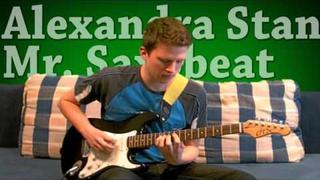 Alexandra Stan - Mr. Saxobeat (Guitar Tutorial + tabs)
