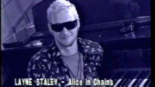 Alice In Chains - 10-28-93 Layne Staley Guest Programming Rage