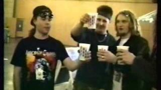 Alice in Chains 1991 Mike Starr, Layne Staley Nurnberg Megadeth is playing-OBSSmedia.wmv