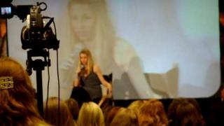 Alona Tal @ Supernatural Convention LA 2009 - #1