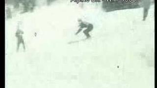 Alpine Ski Weltmeisterschaften 1958 in Bad Gastein