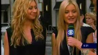 Aly & AJ on The Early Show - 7/9/07