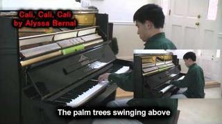 Alyssa Bernal - Cali Cali Cali (Piano Cover by Will Ting) Music Video