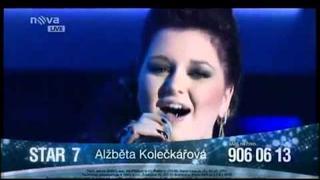 Alžběta Kolečkářová - SMS SUPERSTAR 2011