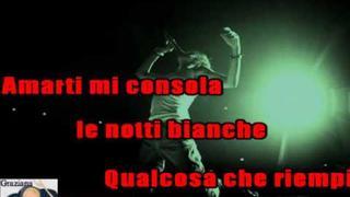 AMANDOTI Gianna Nannini karaoke