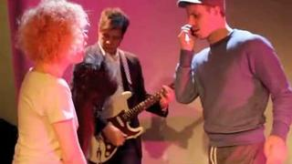 """Amber Martin & Jake Shears owning a cover of """"Slow Hand"""""""
