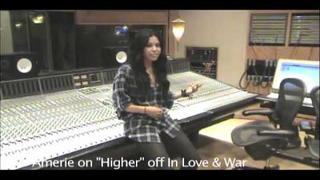 "Amerie discusses ""Higher"" off her new album In Love & War!"