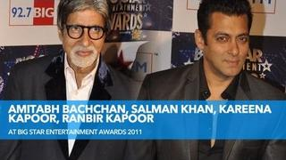 Amitabh Bachchan, Salman Khan, Kareena Kapoor, Ranbir Kapoor At Big Star Awards!
