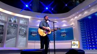 """Amos Lee sings """"Windows Are Rolled Down"""""""