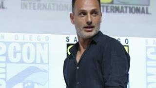 """Andrew Lincoln at Comic-Con 2018 on """"The Walking Dead"""""""