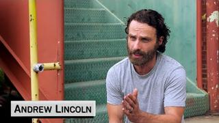 Andrew Lincoln on Rick Grimes