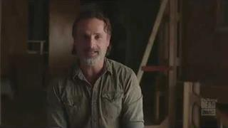 ANDREW LINCOLN SINGING DISCO BAT / RICK GRIMES FUNNY SONG RAP /TWD THE WALKING DEAD BTS Lucille TTD