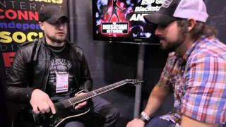 ANDY JAMES Interview & Performance - ESP GUITARS & BLACKSTAR AMPS - W NAMM 2011