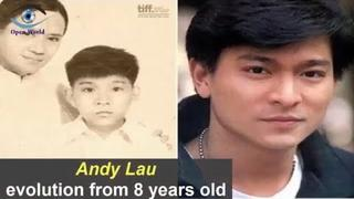 Andy Lau - Transformation From 8 To 55 Years Old